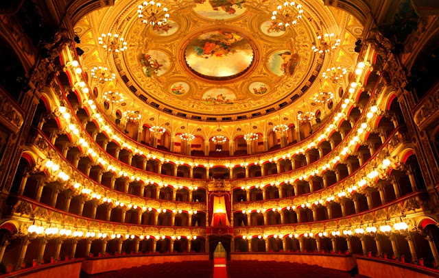 Visita ao Teatro Massimo Bellini em Catania