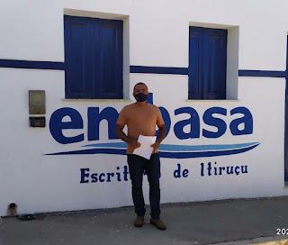Itiruçu: Vereador apresenta PL que exige válvulas de retenção de ar