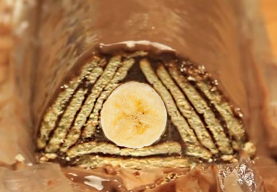 The Pyramid Cake Macedonian Cuisine