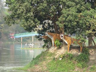 Royal Bengal Tiger Sculpture