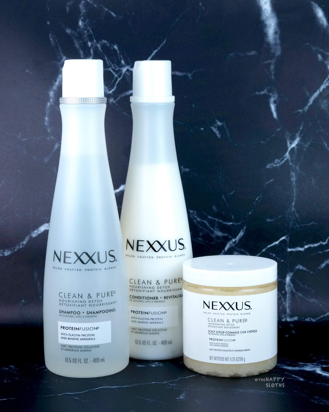 Nexxus | Clean & Pure Nourishing Detox Shampoo, Conditioner & Scalp Scrub: Review