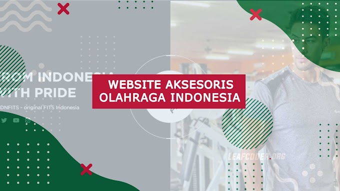 Review Website Aksesoris Olahraga Indonesia : SFIDNFITS