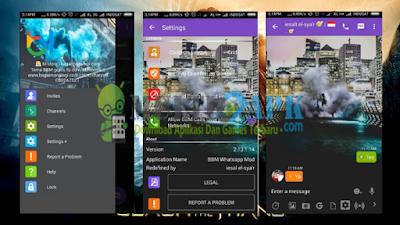 BBM Whatsapp Mod Smoke Terbaru v2.13.1.14 Apk