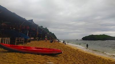 Pantai Sadranan gunung kidul