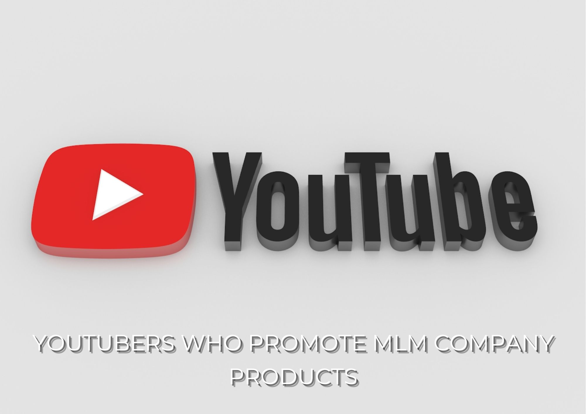 Promote MLM Company Products