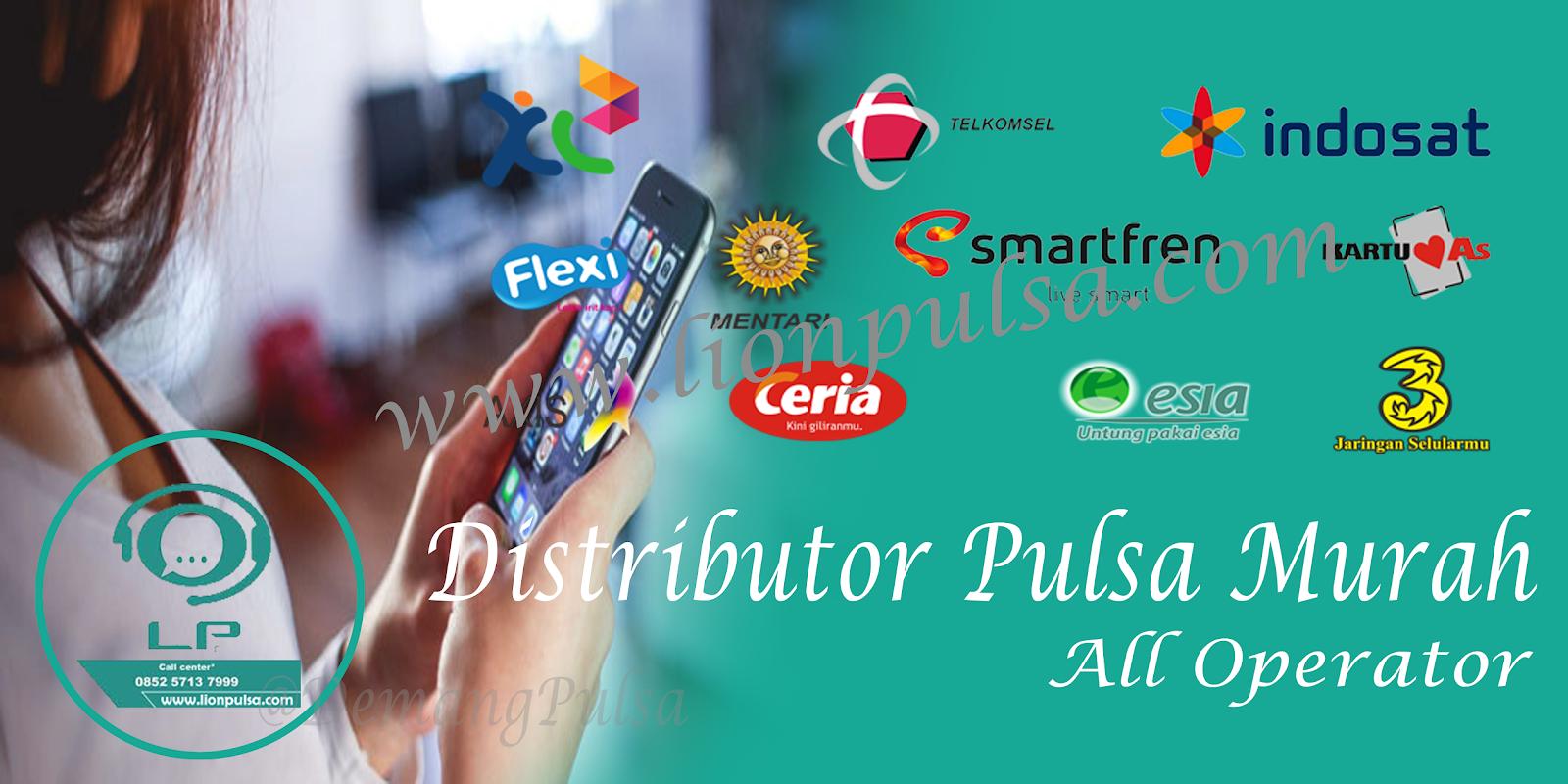 Distributor Pulsa Murah All Operator leon pulsa