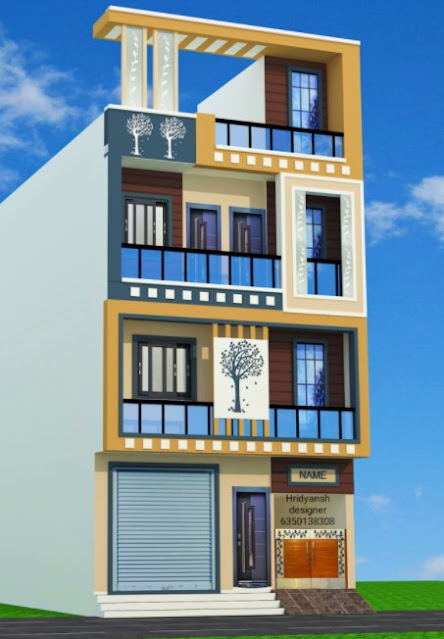 low cost normal house front elevation designs