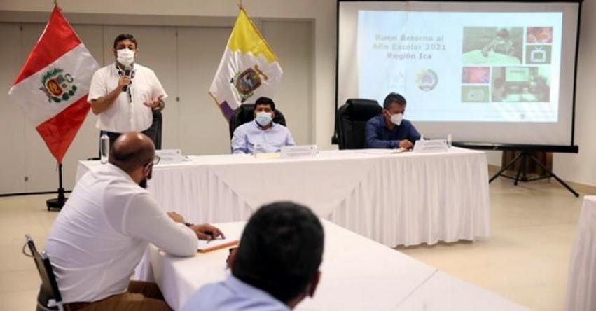 MINEDU: El gran objetivo impostergable es volver poco a poco a las clases, sostuvo el Ministro de Educación, Ricardo Cuenca