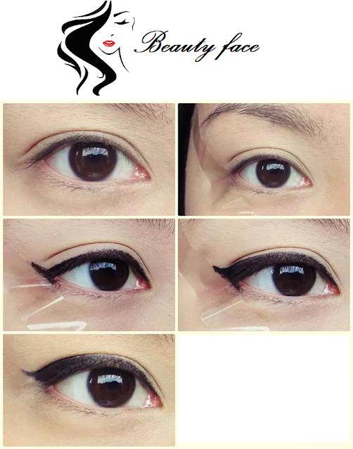 How to Create Perfect Winged Eyeliner?, كيف تحصلين على محدد عيون مجنح مثالي؟الآيلاينر,محدد العين,رسم العين,جمال العين,