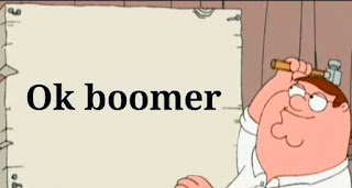 OK Boomer, Peter Griffin