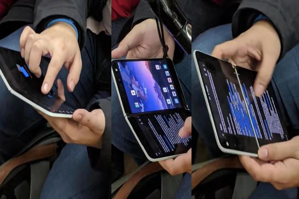 ظهور هاتف مايكروسوفت القابل للطي Surface Duo في فيديو مثير
