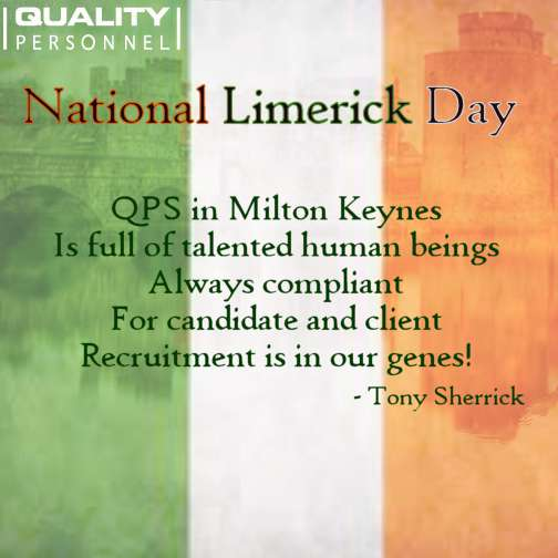National Limerick Day Wishes For Facebook