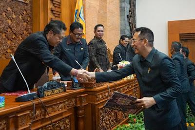 Pembukaan Sidang Paripurna DPRD, Pemkot Ajukan 5 Ranperda Untuk Ditetapkan Menjadi Perda
