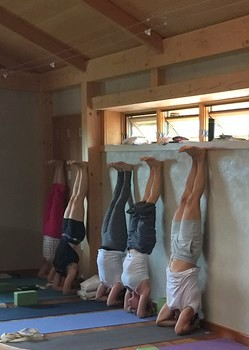 Practice at Prajna Yoga
