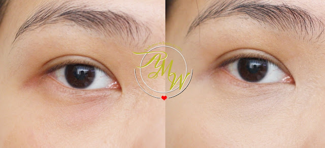 before and after photo of 3CE Stylenanda Waterful Concealer 002