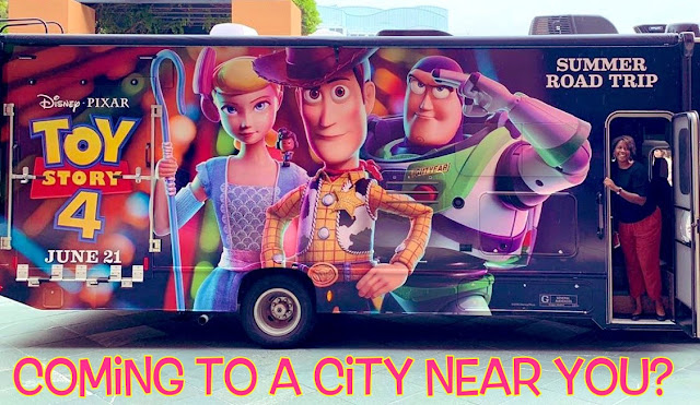 Toy Story 4 Summer Road Trip Go RVing Tour