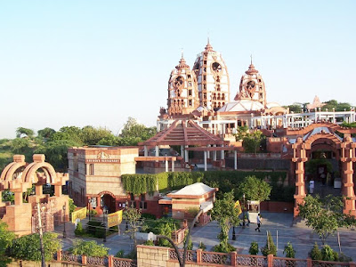 Best places to visit In Delhi, Iskcon Temple