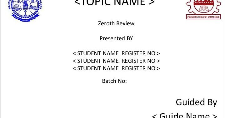 Zeroth review report dating