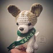 http://www.ravelry.com/patterns/library/lucky-the-chihuahua-dog-amigurumi