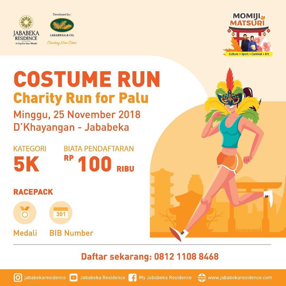 Momiji Matsuri Costume Run • 2018