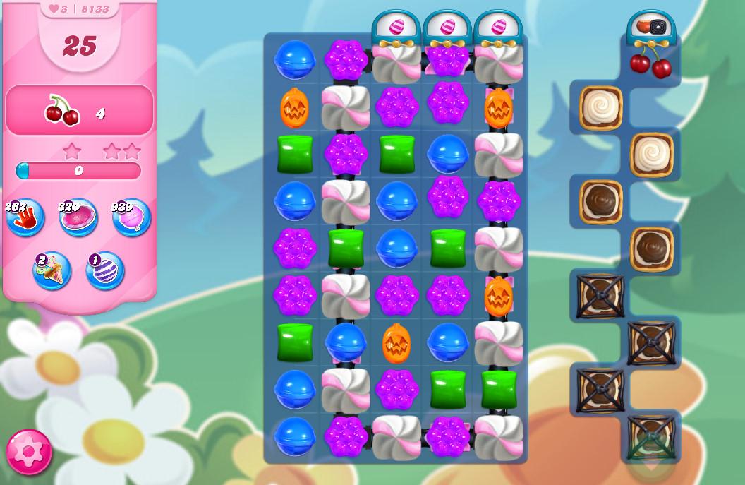 Candy Crush Saga level 8133