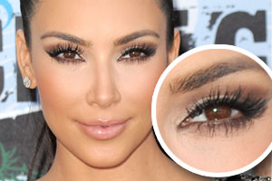 ME, MY LIPS & EYE!: Get Kim Kardashian's Eyelashes