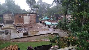 Akibat Pergeseran Tanah 97 Bangunan Rumah Harus  Segera Di Evakuasi