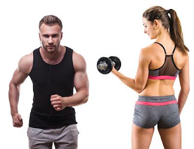 Pierde 40% grasa pesas