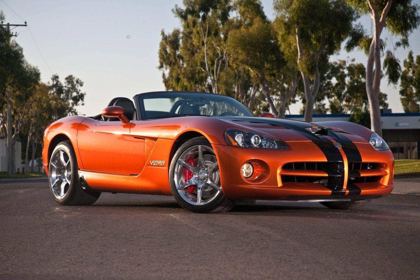 Evolution Car: 2019-dodge-viper-roadster-photo