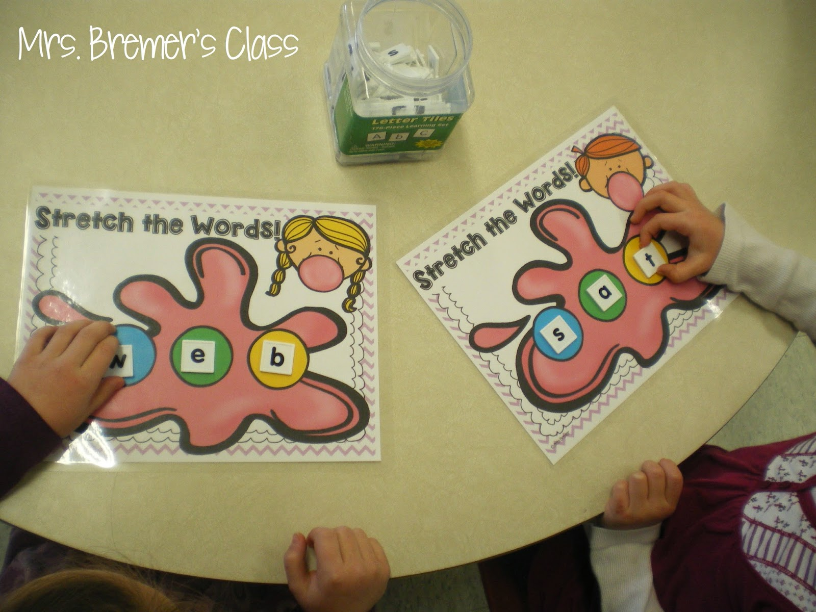 Word Work activities literacy centers for Kindergarten and First Grade