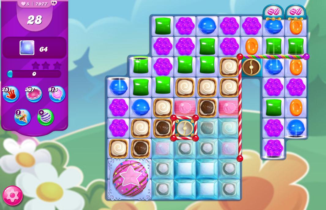 Candy Crush Saga level 7977