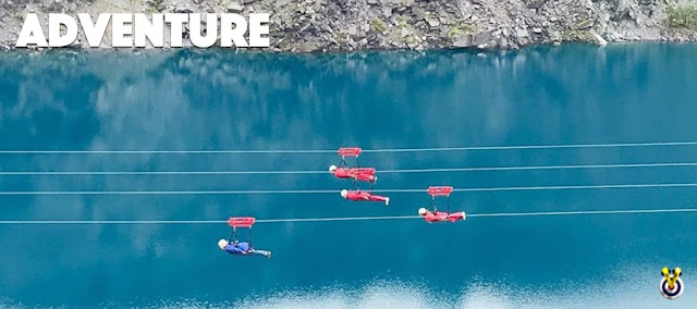 The Zip Wire Velocity 2 in North Wales as a stag do idea for 2020