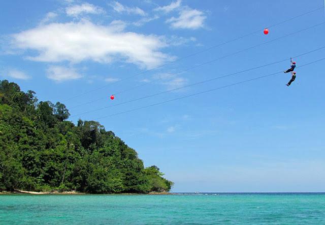 Pulau Sapi Zip Line