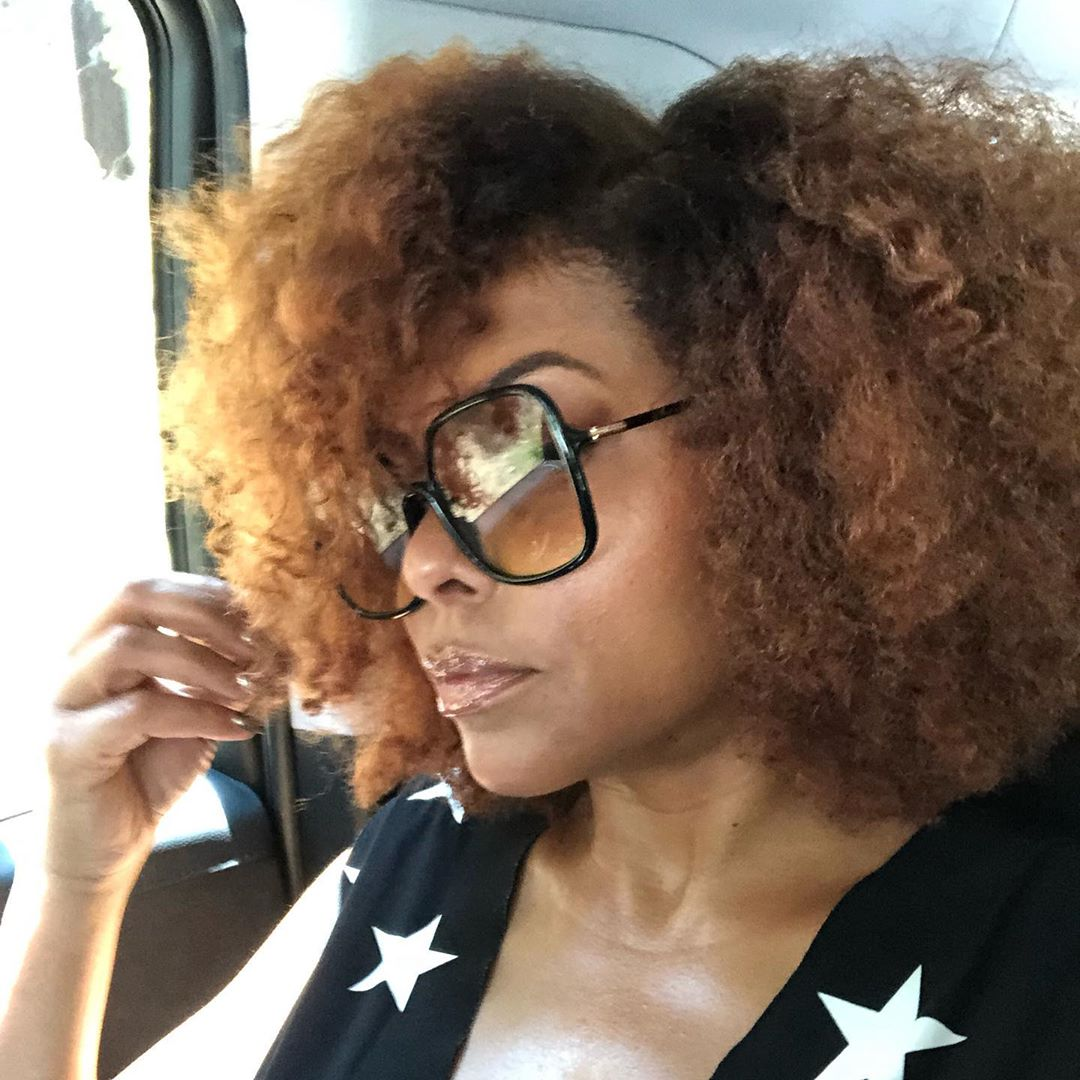 Taraji P Henson Teases New Hair Care System Tphbytaraji And Natural Hairstyle