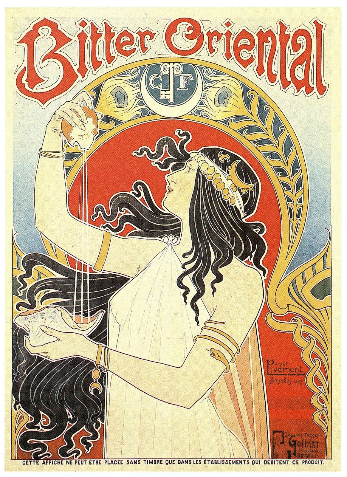 Blogging About Design: Art Nouveau Poster