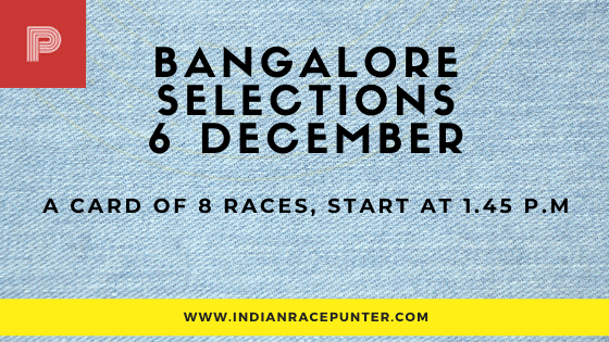 Today's  Mumbai Race Tips and Selections