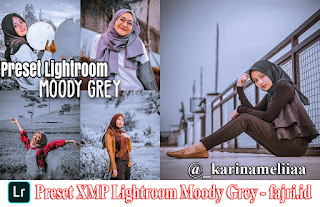 Preset XMP Lightroom Moody Grey Terbaru