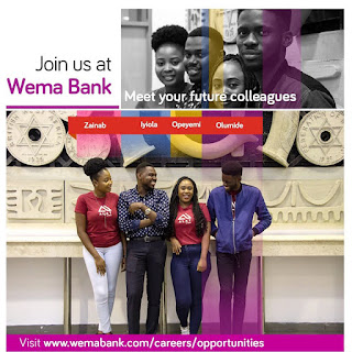 Wema Bank 2021 Bankers-in-Training Program [Apply Now]