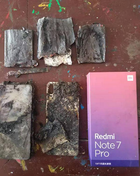 Another Xiaomi Redmi Note 7 Pro Exploded