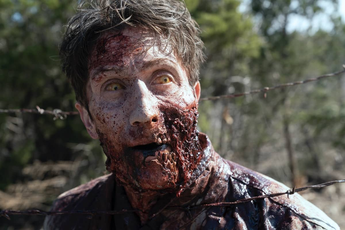 El compañero de John Dorie convertido en walker en el episodio 6x04 de Fear The Walking Dead