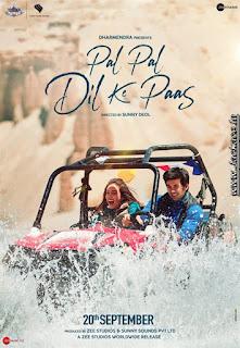 Pal Pal Dil Ke Paas First Look Poster 7