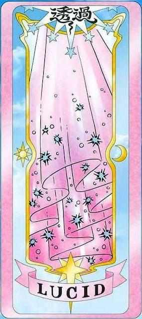 Lucid clear card
