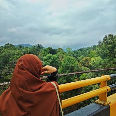 Jembatan Lau Luhung : Intip Keindahan Alam Yang Mempesona