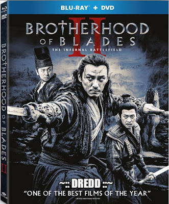 Brotherhood Of Blades II 2017 Dual Audio BRRip 480p 400Mb x264