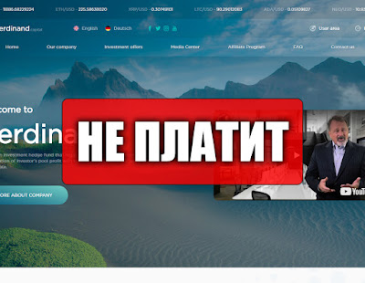 Скриншоты выплат с хайпа ferdinand.capital