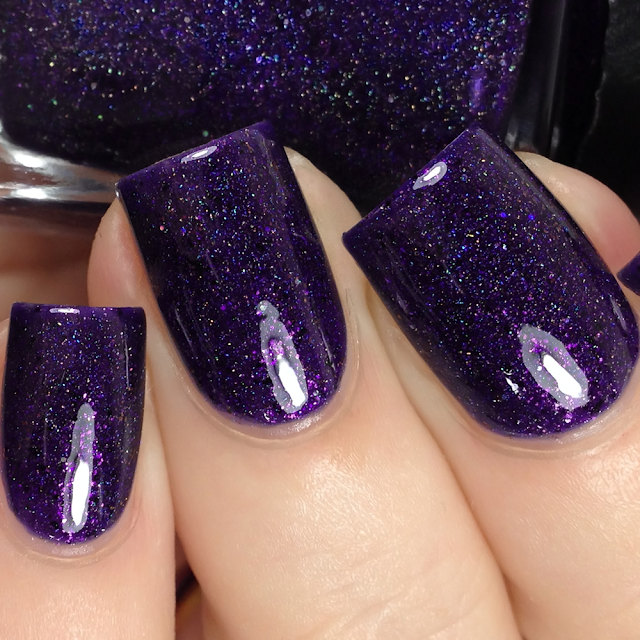 Turtle Tootsie Polishes-Cozy Purple Blanket