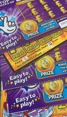 National Lottery Scratchcards from 2019