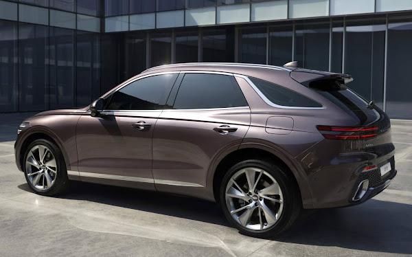 Genesis apresenta o GV70: SUV para enfrentar o Audi Q5