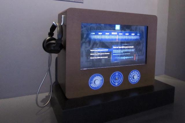 Rádio no Museu do FC Porto