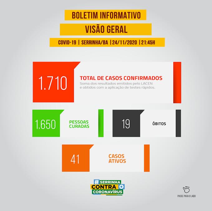 Prefeitura de Serrinha informa mais duas mortes pela covid-19 e 17 casos positivos nesta terça-feira; 9 pessoas foram curadas